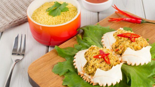 Receta de centollo relleno un plato de lujo f cil de preparar for Cocinar un centollo
