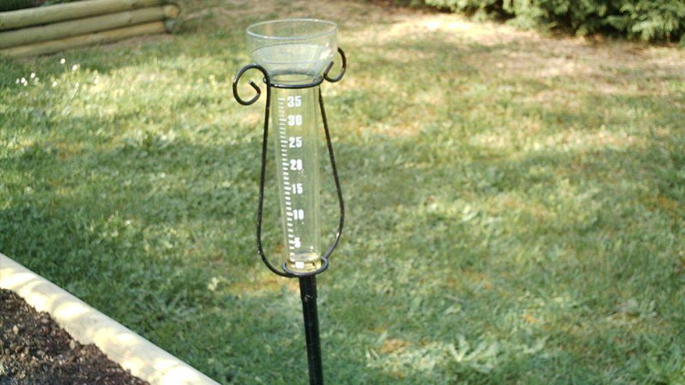 Cómo mide la lluvia un pluviómetro
