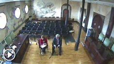 Dante Canonica declarando en el juicio de la Gürtel.