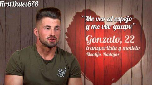 "Gonzalo, el nuevo ""guapo"" de 'First Dates'"