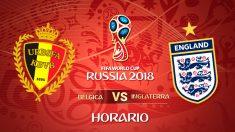Bélgica – Inglaterra | Horario Mundial de Rusia.