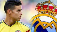 James podría volver al Real Madrid.