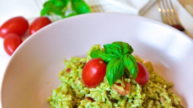 arroz con calabacín