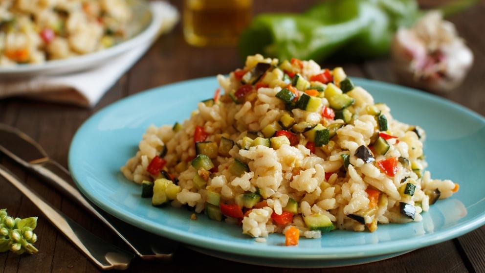 Receta de arroz con calabacín