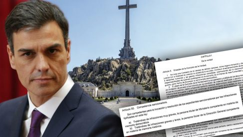 """La Ley de Memoria Histórica de Sánchez propone nombrar """"inquisidores"""" políticos para sancionar las infracciones previstas en la misma"""