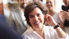 Soraya Sáenz de Santamaría este jueves (RRSS).