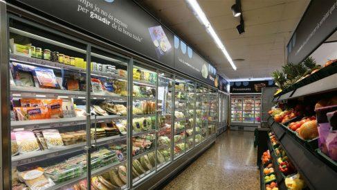 Lineales de un supermercado (Foto: EP)