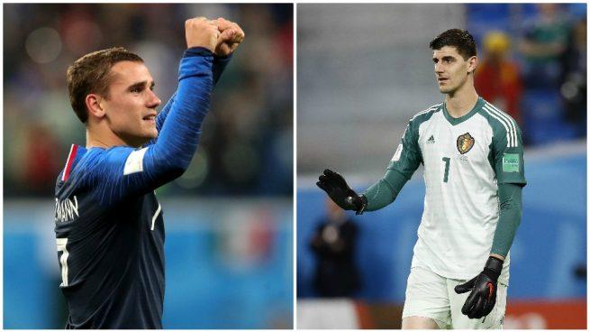 El palo de Griezmann a Courtois por el 'antifútbol' de Francia: «Jugó en el Atlético y Chelsea…»