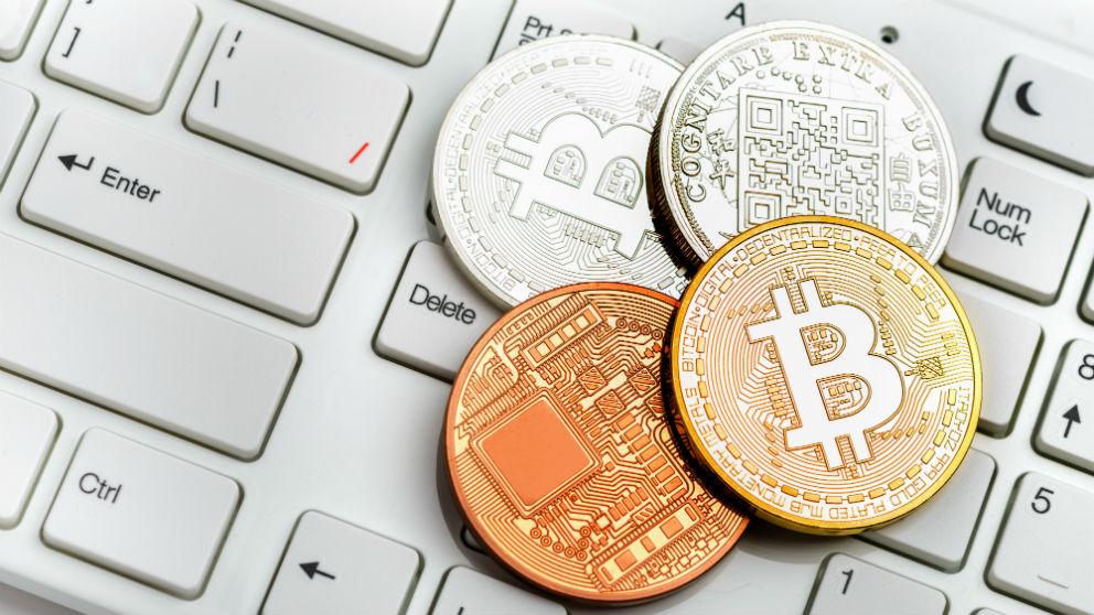 Imagen de unos bitcoins.