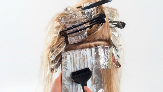 teñirse el pelo