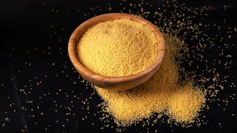 La sémola de trigo duro conserva todas las propiedades del trigo en grano.