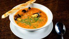 Receta de sopa de mejillones picante, una explosión de sabor