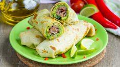 Receta de tacos de guacamole, una cena rápida y saludable