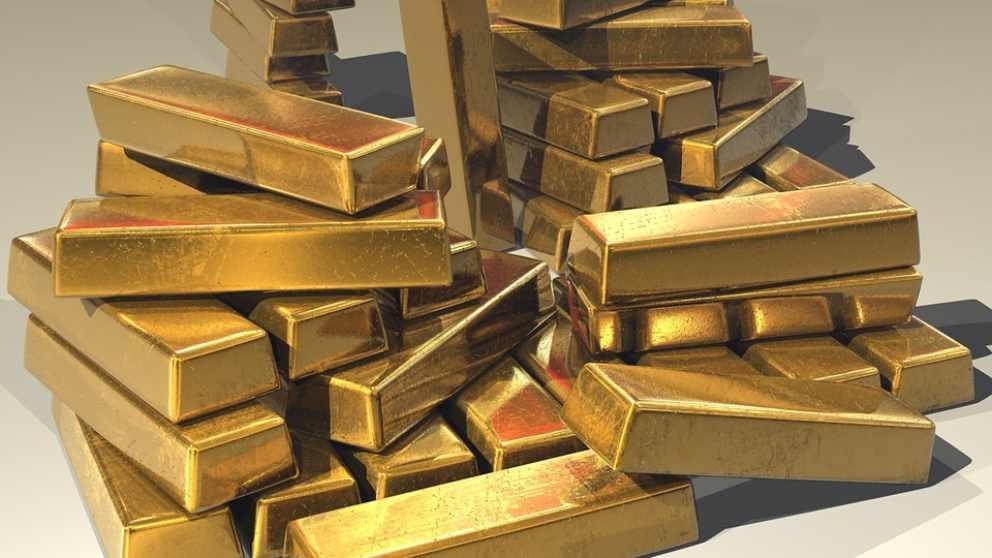 El tesoro de Hoxne contenía mucho oro.