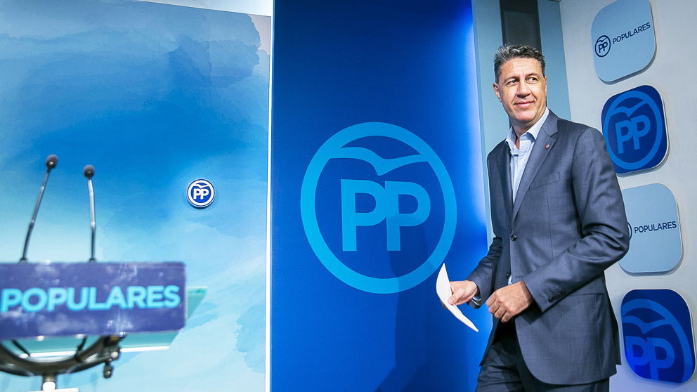 Xavier García Albiol, líder del PP en Cataluña. (Foto: PP)