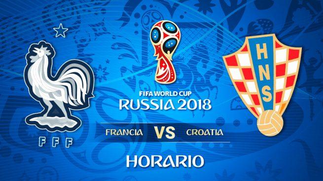 Francia – Croacia: Hora y dónde ver la final del Mundial 2018 en directo