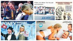 Así ven los usuarios de las redes sociales el último escándalo protagonizado por Corinna y Don Juan Carlos.