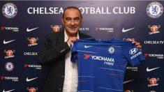 Sarri, nuevo entrenador del Chelsea.