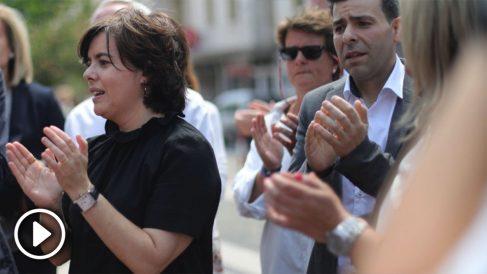 Soraya Sáenz de Santamaría este viernes (RRSS).