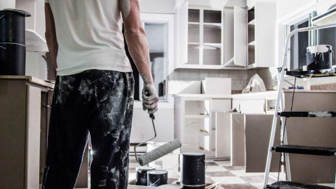 pintar muebles de formica