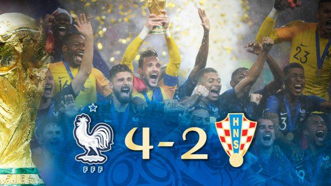 Francia campeona, Croacia inolvidable