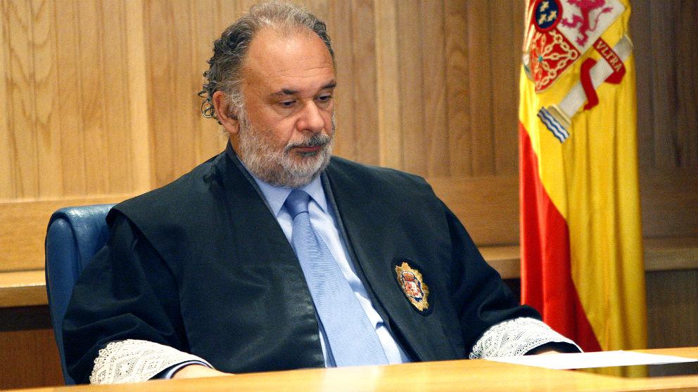 El magistrado de la Audiencia Nacional Julio de Diego.