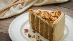 Receta de pastel de capuchino, un postre delicado y original