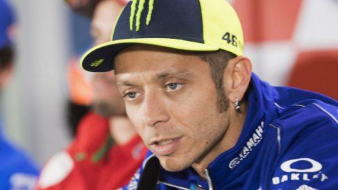 Valentino Rossi se ha mostrado eufórico tras finalizar segundo en Sachsenring, lo que supone la consecución del mejor resultado del año para él. (Getty)