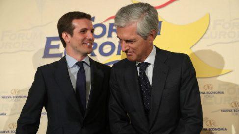 Pablo Casado y Adolfo Suárez Illana en una reciente imagen.