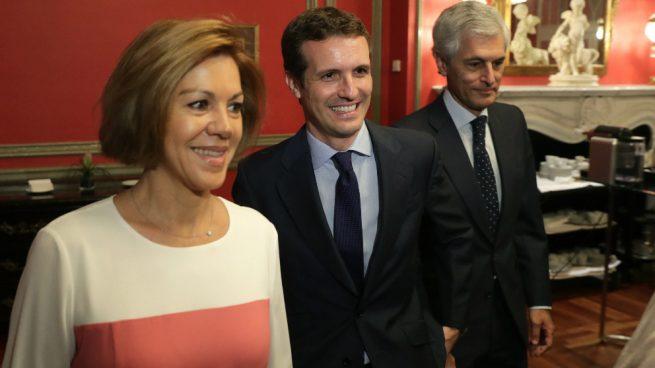 María Dolores de Cospedal apoya a Pablo Casado