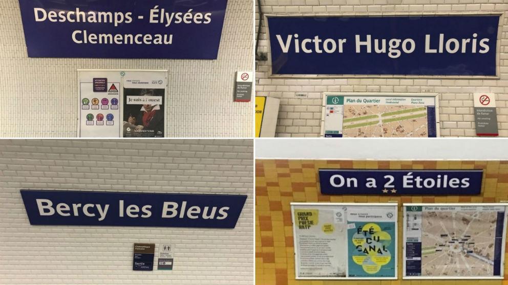 Las estaciones de metro de París. (Europa Press)
