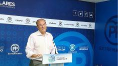 José Antonio Monago, presidente del PP de Extremadura. (EP)