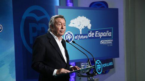 Luis de Grandes, presidente del comité organizador del congreso extraordinario del PP. (EP)