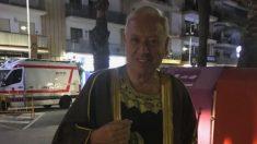 García Margallo en la fotografía que se ha vuelto viral.