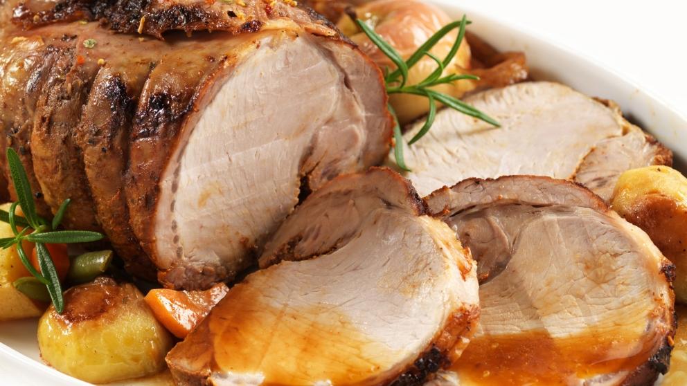 Receta de lomo de cerdo al vino blanco