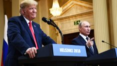 Donald Trump y Vladimir Putin (Foto: AFP)