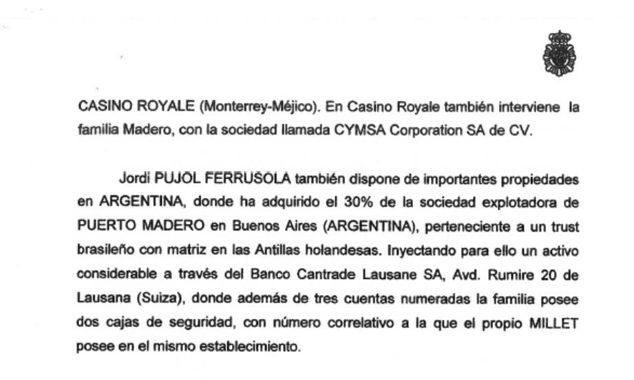 Juan Carlos I tiene, según Corinna, el mismo testaferro en Suiza que Pujol: Arturo Fasana