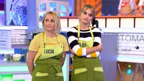 Alba Carrillo y su madre primeras finalistas de 'Mi madre cocina mejor que la tuya'