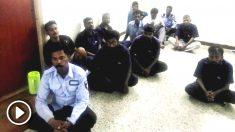 Varios de los acusados de haber violado en grupo durante meses a una niña de 11 años en Chennai (India).
