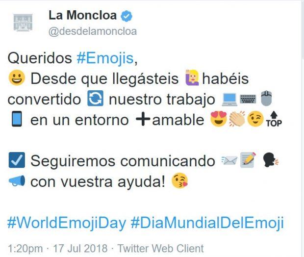 Moncloa se convierte en el hazmerreír al lanzar un tuit tan infantil que luego lo retira