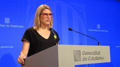 Elsa Artadi, portavoz del Govern de Cataluña. (EP)