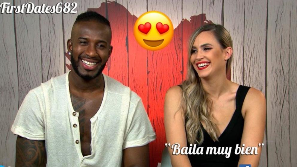 Jair y Patricia han conectado en 'First Dates'.