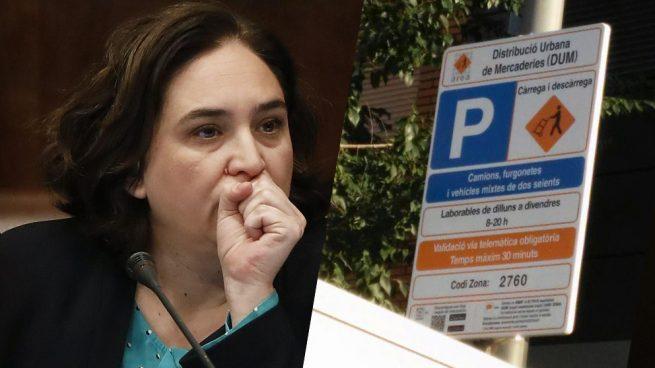 Un juez anula una multa de tráfico de Colau porque la señal estaba sólo en catalán
