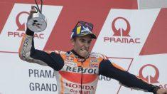 Marc Márquez llega al parón de verano con la tercera mayor ventaja al frente de la general desde que es piloto de MotoGP. (getty)