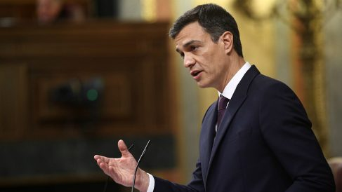 Pedro Sánchez, en el Congreso de los diputados. (EP)
