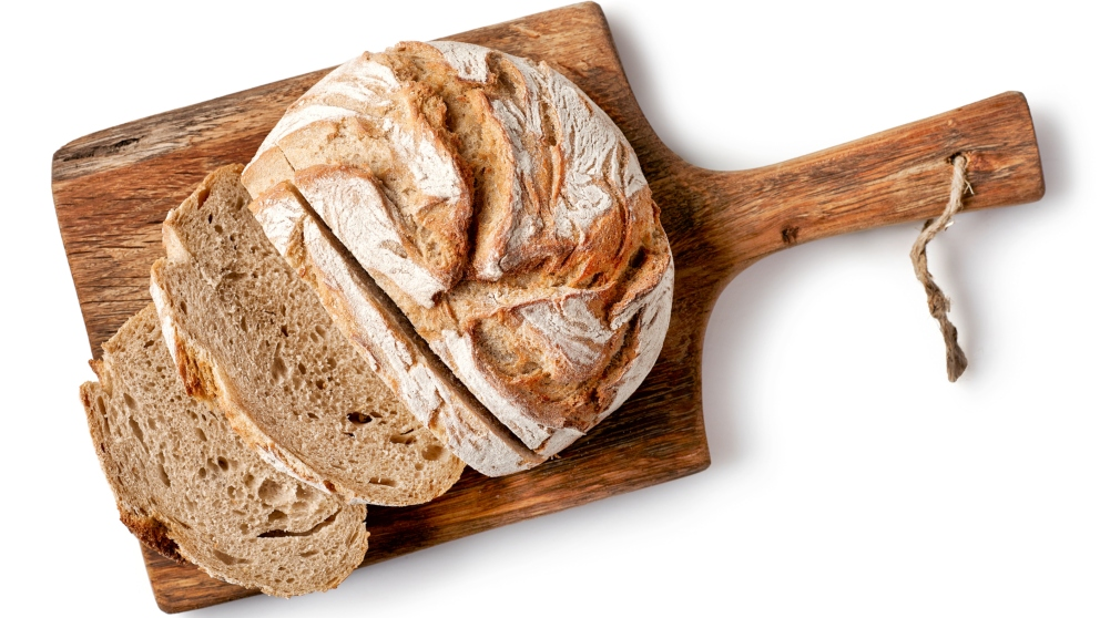 Receta de pan de lentejas