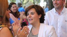 Soraya Sáenz de Santamaría.