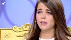 Violeta ha roto a llorar hoy en 'MYHYV'. (Foto: Cuatro)