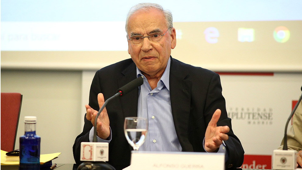 Alfonso Guerra, ex vicepresidente del Gobierno. (EP)