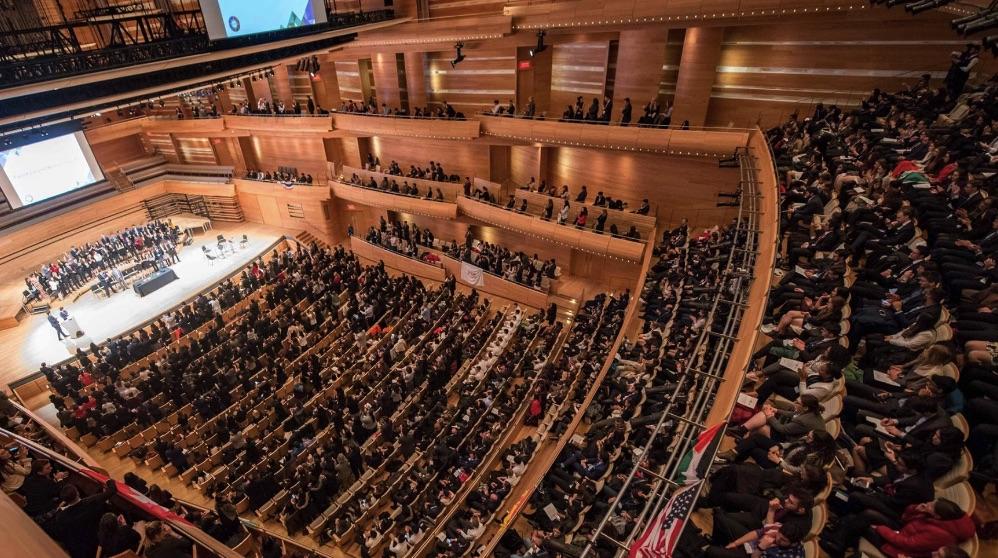Apertura del evento en 2017 en Montreal, Canada.